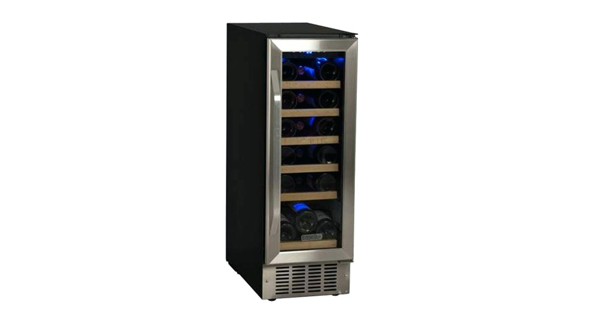 EdgeStar CWR181SZ 12-Inch Wide 18-Bottle Built-In Wine Cooler image