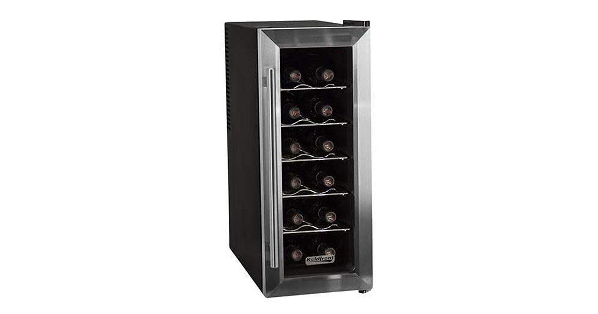 Koldfront TWR121SS 12 Bottle Thermoelectric Wine Cooler image
