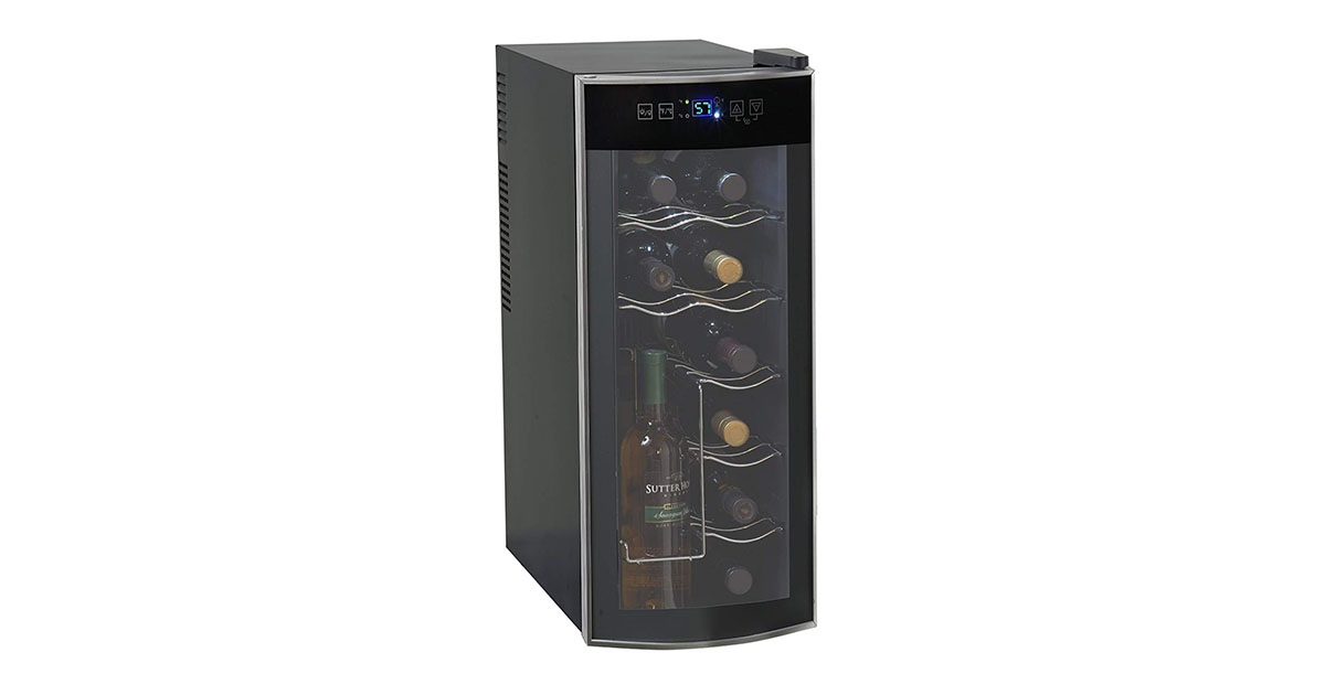 Avanti EWC1201 12 Bottle Thermoelectric Counter Top Wine Cooler image