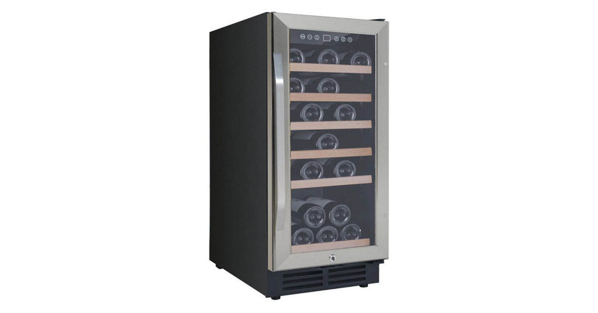 Avanti WC3015S3S Built-In and Freestanding Wine Cooler image
