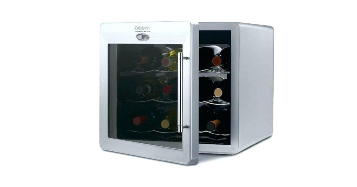 Cuisinart CWC1200 Private Reserve 12-Bottle Countertop Wine Cellar image