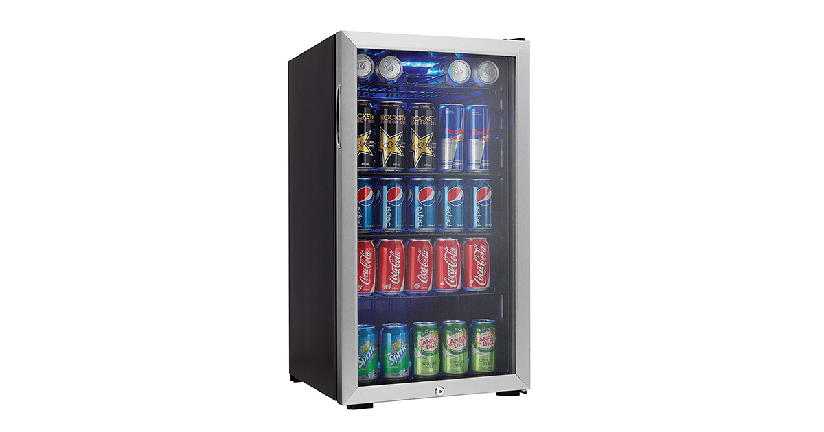 Danby DBC120BLS 120 Can Beverage Wine Cooler image