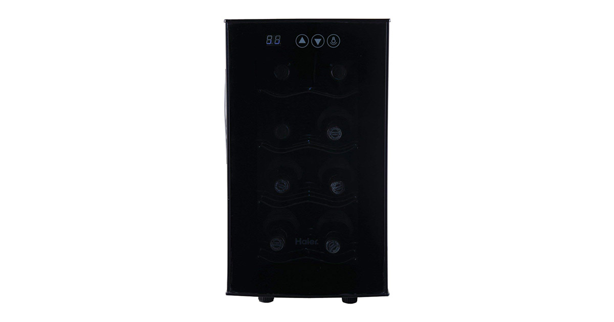 Haier HVTEC08ABS 8-Bottle Bottle Wine Cooler image