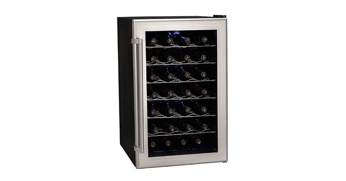 Koldfront TWR282S 28 Bottle Ultra Capacity Thermoelectric Wine Cooler image