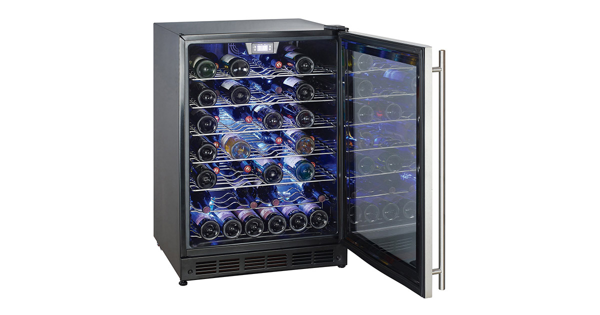 Magic Chef MCWC50DST 5-Bottle Wine Cooler image