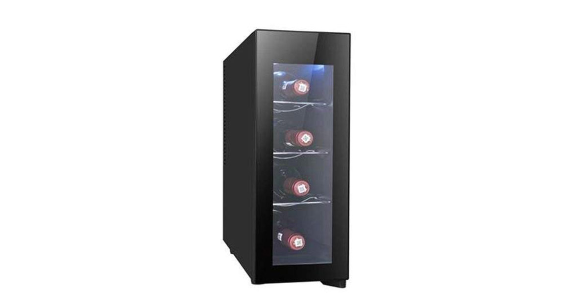 RCA RFRW041 4-Bottle Wine Fridge image