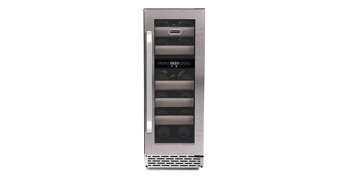 Whynter BWR171DS 17-Bottle Dual Zone Built Wine Refrigerators image