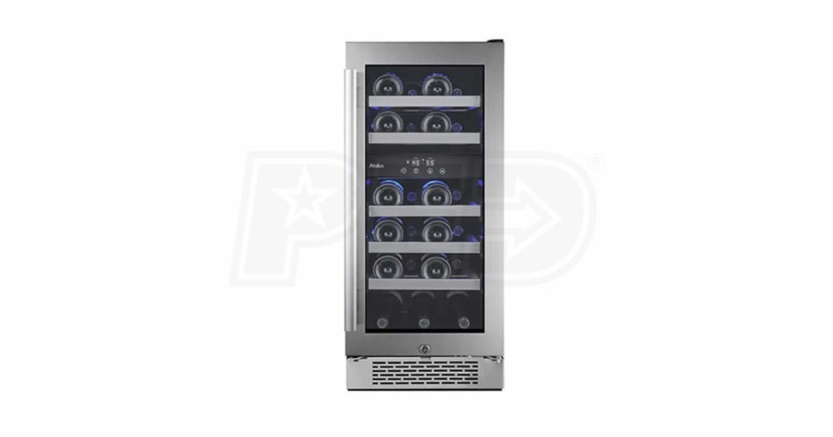 Avallon AWC151DZRH 23-Bottle Dual Zone Built-In Wine Cooler image