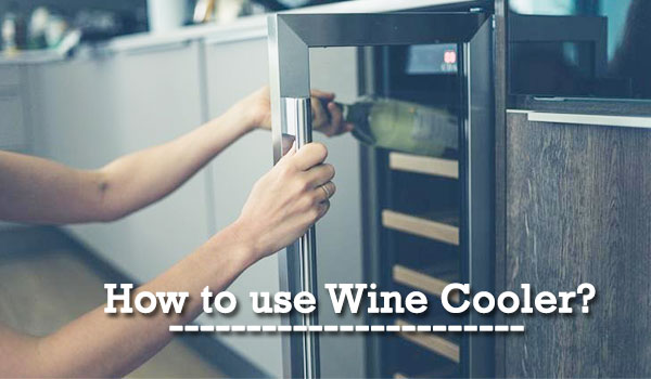 How to use Wine Cooler image