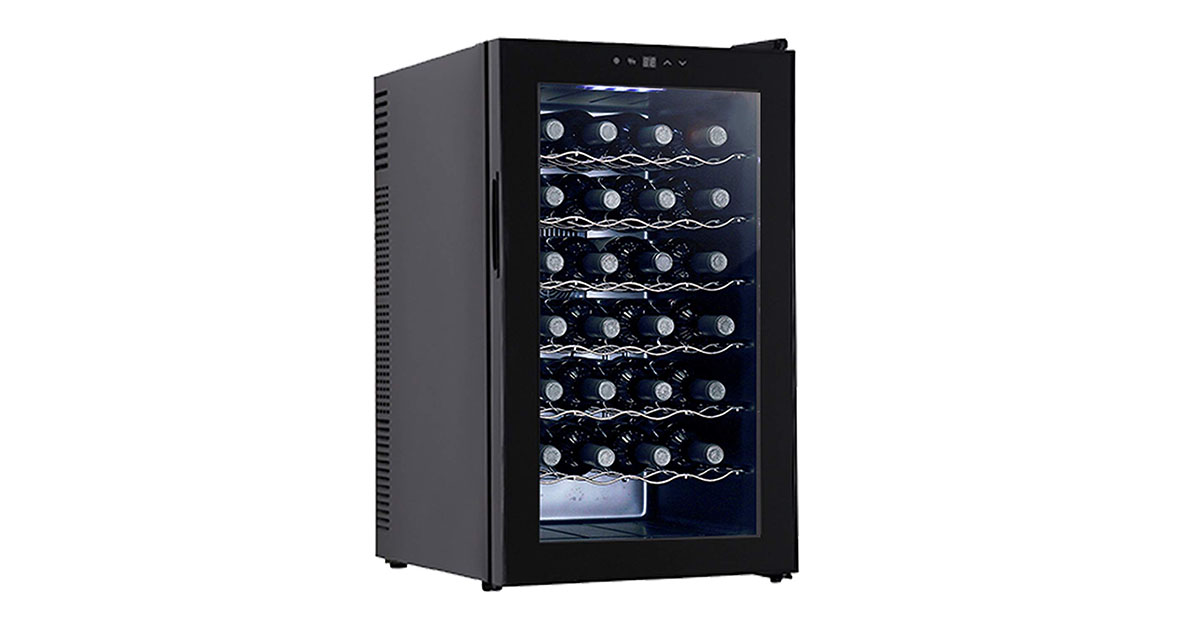 KUPPET BCW70A 28-Bottles Thermoelectric Freestanding Wine Cooler image