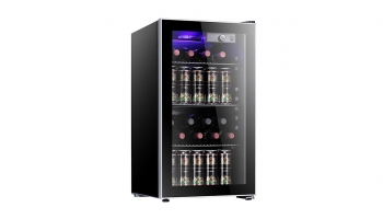 Antarctic Star 26 Bottle Wine & Beverage Cooler – Perfect for Wine bottles, Cans, and beverages!