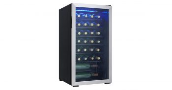 Danby DWC93BLSDB 36 Bottle Freestanding Wine Cooler image