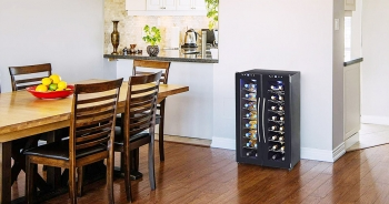 10 Top-Rated Dual Zone Wine Coolers and Fridges- Chill both red & white wines in a single unit!