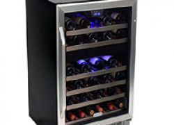 EdgeStar CWR461DZ 46 Bottle Dual Zone Wine Cooler Review 2018 | Best Dual Zone Wine Cooler