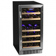 EdgeStar Built-In Wine Cooler Review 2016 – EdgeStar 26 Bottle Dual Zone Stainless Steel Wine Cooler – CWR262DZ