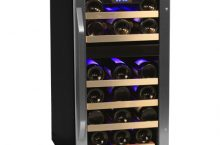 EdgeStar 26 Bottle Dual Zone CWR262DZ Wine Cooler – Store your Wine Bottles in 2 sections