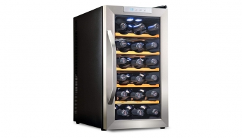Ivation Premium 18 Bottle Thermoelectric Wine Cooler – Now protect your Wine even for Short or Long Term