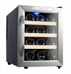 Kalamera 12 Bottle Countertop Wine Cooler – Sits quietly on your Kitchen Counter Space!