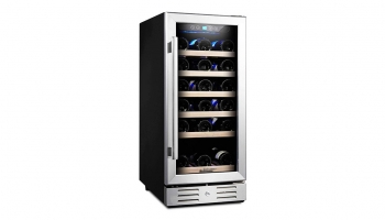 Kalamera 15 Inch 30 Bottle Built-in Wine Cooler – Restores temperature even after a power outage!