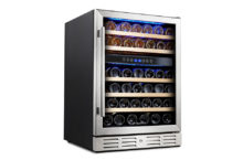 Kalamera Krc-46dzb 46 Bottle Wine Cooler – Best option if you have various wine collection