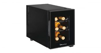 Magic Chef MCWC6B 6-Bottle Single Zone Black Wine Cooler image
