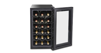 SUPER DEAL SD1026 18-Bottle Touchscreen Thermo-electric Wine Cooler image