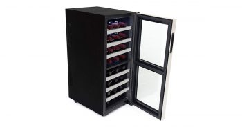 Whynter WC-241DS 24 Bottle Dual Zone Thermoelectric Wine Cooler image