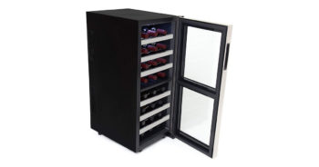Whynter WC241DS 24-Bottle Dual Zone Thermo-electric Wine Cooler image
