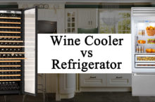 Difference between Wine Cooler and Refrigerator | Which one is better?