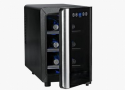 Wine Enthusiast Silent 6 Bottle Touchscreen Wine Cooler Review | Best Small Wine Cooler