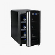 Wine Enthusiast Silent 6 Bottle Touchscreen Wine Cooler Review 2016