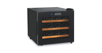 Wine Enthusiast 272 03 12W Silent 12 Bottle Touchscreen Wine Cooler image