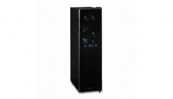 Wine Enthusiast Silent 18 Bottle Freestanding Wine Cooler – Offers Dual Zone even with its Slimfit Design
