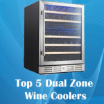 Best Rated Dual Zone Wine Coolers – Chill both red & white wines in a single unit!