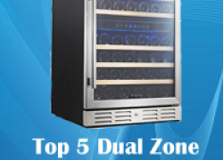 Top 5 Best Dual Zone Wine Cooler Review 2017 | Top Rated By Customers