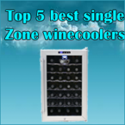 Top Single Zone Wine Coolers Review 2018 | Buy Best Wine Chiller Online